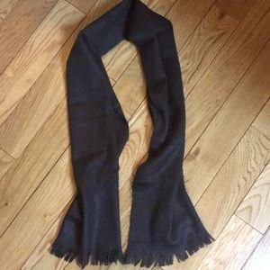 Other - Men's dark brown scarf
